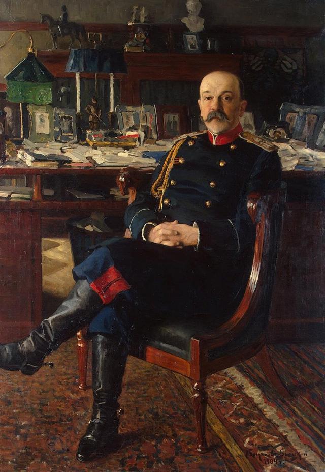 09-Н. П. Богданов-Бельский_Портрет генерал-адъютанта П. П. Гессе. 1904