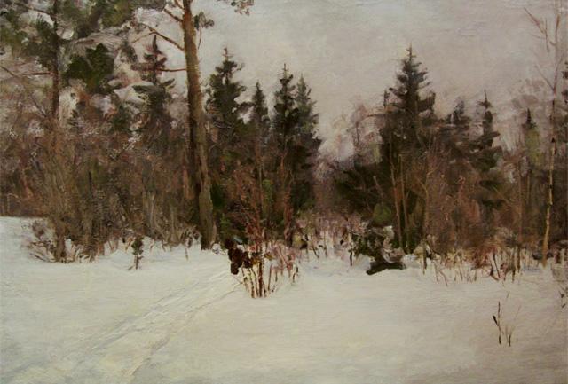 10-Владимир Гремитских - Зимний день в лесу (1960)