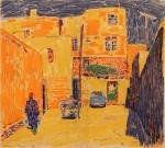 10-Станислав Никиреев - Бухара-4, цветные карандаши, 1966