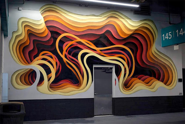 стрит-арт немецкого художника 1010
