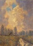 11-Сергей Коморный. После дождя. Чувашская баня (2014)