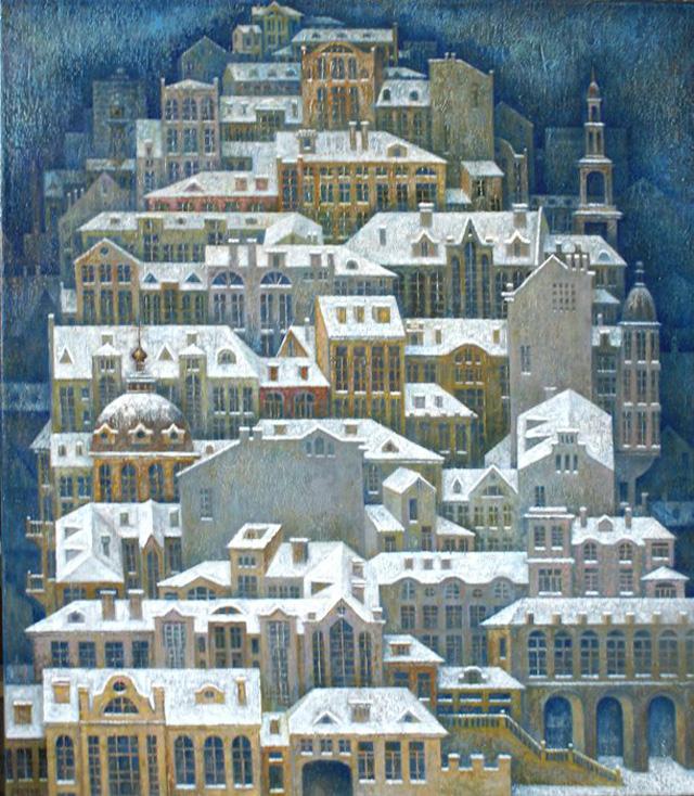 11-Сергей Чесноков-Ладыженский_Зимний город 2012
