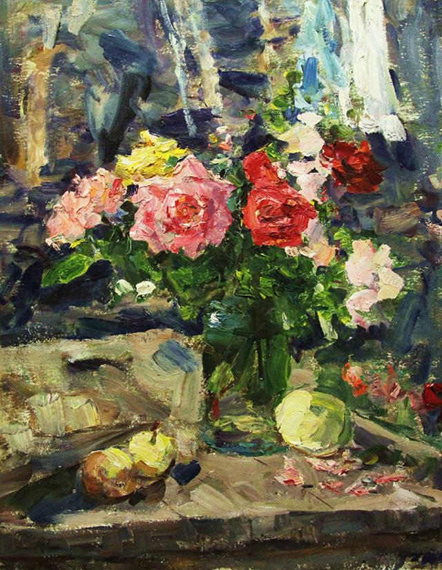 12-1-Владимир Гремитских - Розы. Солнце (1984)