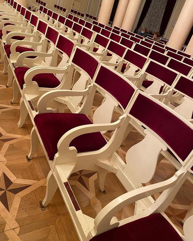 Зал Национальной филармонии Украины (Киев), фото: Valentyna Kurdyukova / Фейсбук