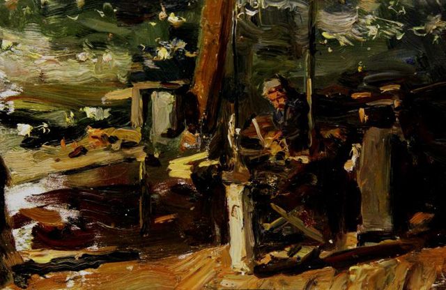 13-Владимир Гремитских - Ночная смена. Куйбышевская ГЭС (1952)