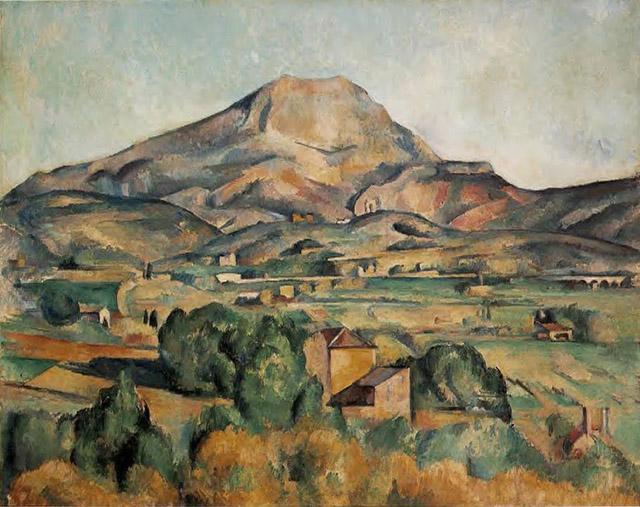 14_Mont Sainte-Victoire (c. 1885-95)