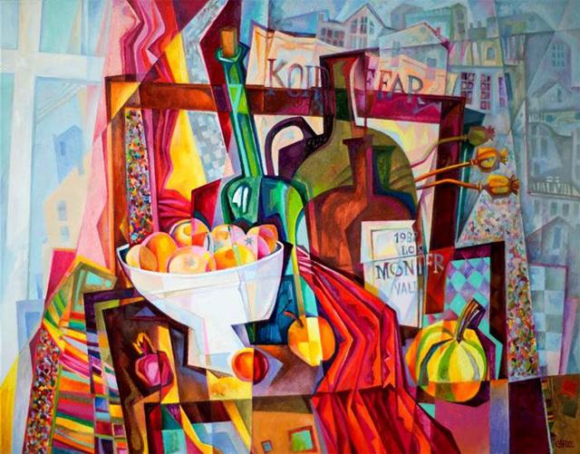 15-Сергей Чесноков-Ладыженский_Осенний натюрморт 2015