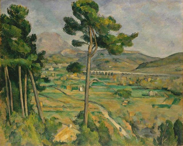 17_Mont Sainte-Victoire (c. 1892-95)