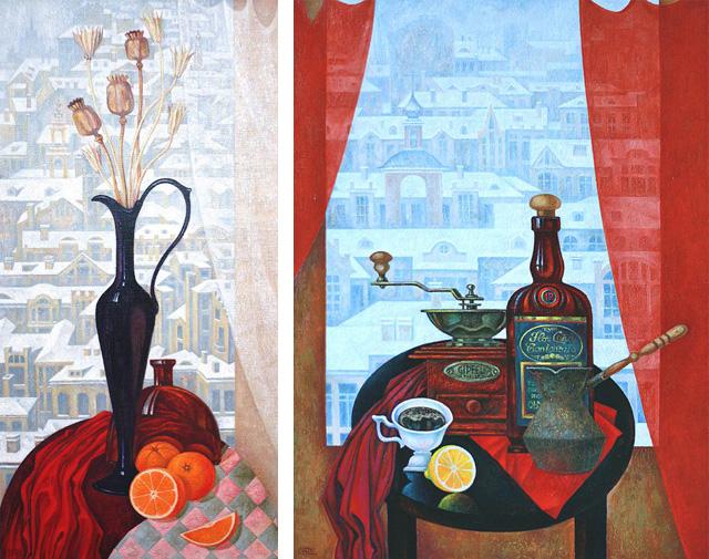 19-Сергей Чесноков-Ладыженский_Конец февраля и Кофе в мастерской 2011