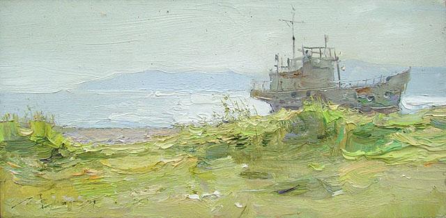 20-Вероника Лобарева - Старая верфь. Листвянка. Байкал (2009)