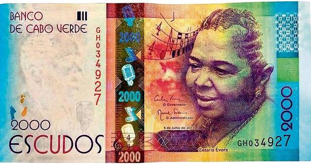 2000 эскудо банка Кабо-Верде