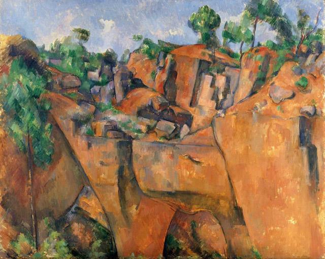 21_The Bibemus Quarry (c. 1895)