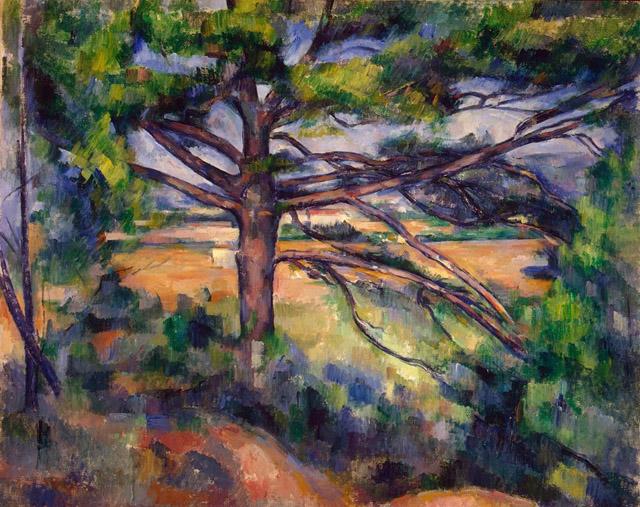 22_Great Pine near Aix (c. 1895-97)