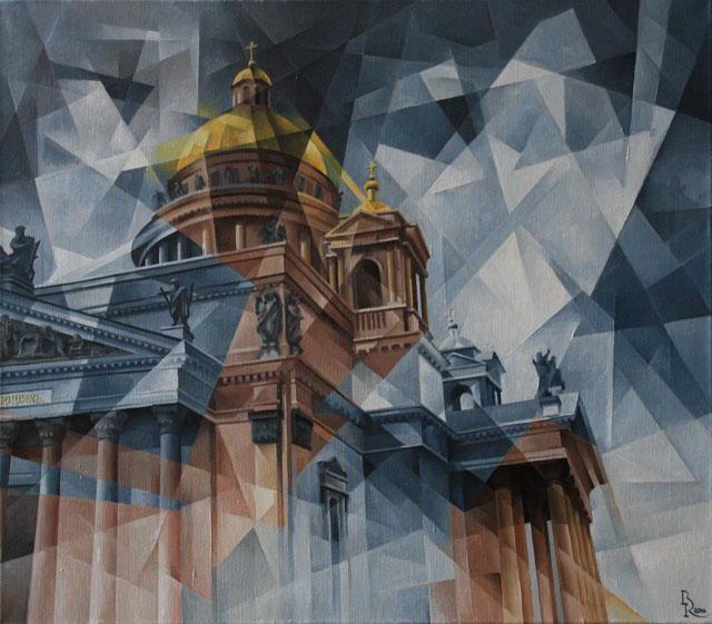 Пост-кубофутуризм Василия Кроткова