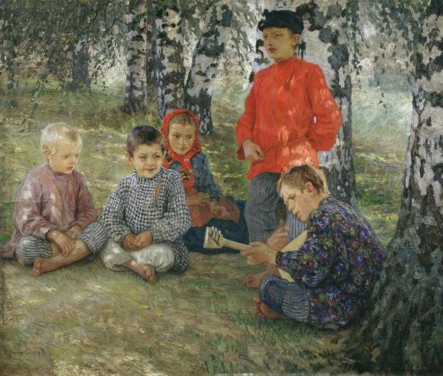 23-Н. П. Богданов-Бельский_Виртуоз