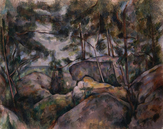 23_Rocks in the Forest (c. 1890-99)