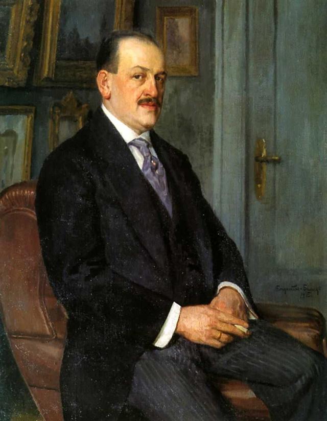 24-Н. П. Богданов-Бельский_Автопортрет. 1915
