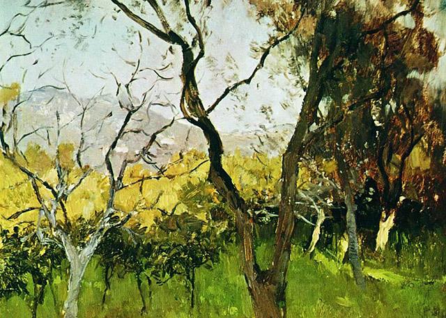 картина И.И. Левитана