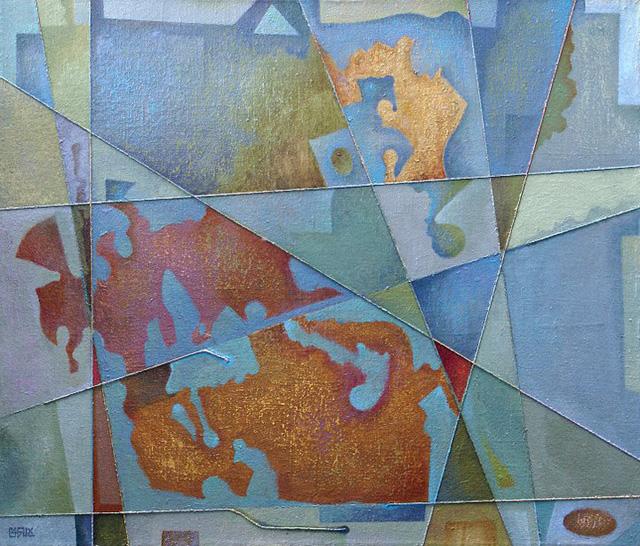26-Сергей Чесноков-Ладыженский_Структура № 551 (Осенний организм) 2007-09