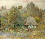 29-Станислав Никиреев - Дом шахтера Федорова, цветные карандаши