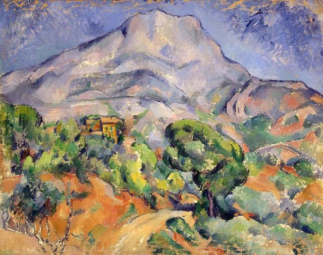 29_Mount Sainte-Victoire (c. 1898-1902)