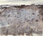 33-Станислав Никиреев - Полынь, цветные карандаши, 1978