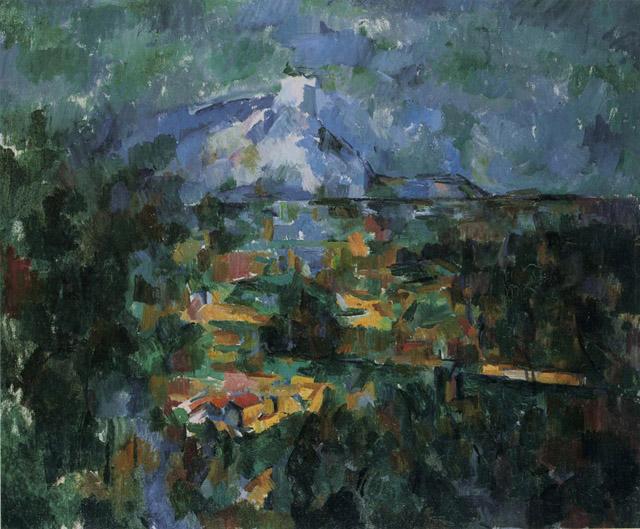 44_Mont Sainte-Victoire seen from Les Lauves (c. 1904-06)
