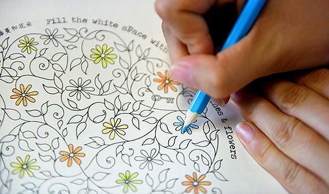 страница из книги «Таинственный сад»