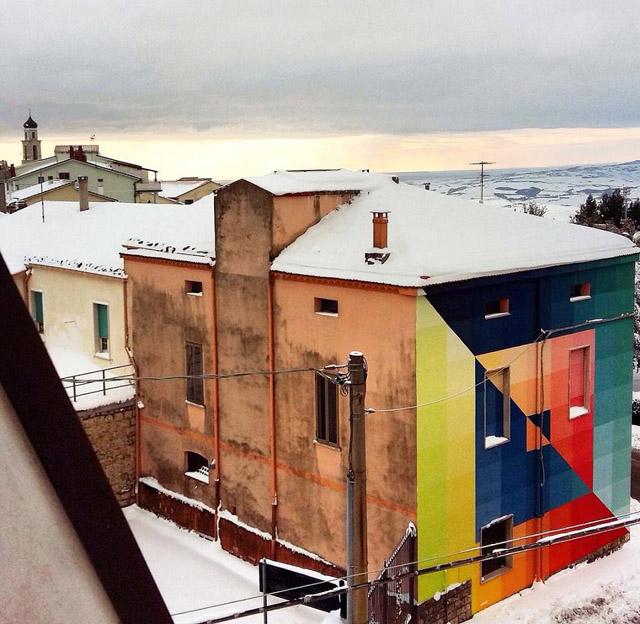 Стрит-арт итальянского художника Альберонеро