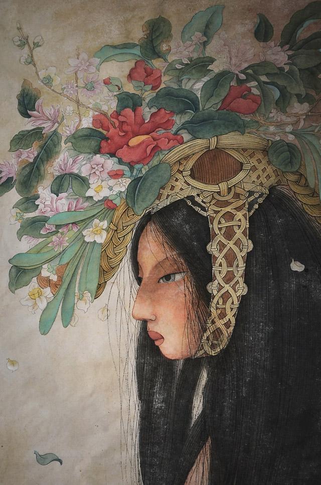 Работа Элис Линь (Китай)