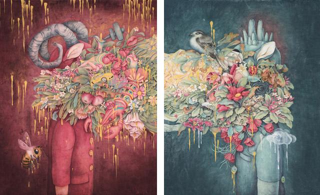 Работы Элис Линь (Китай)