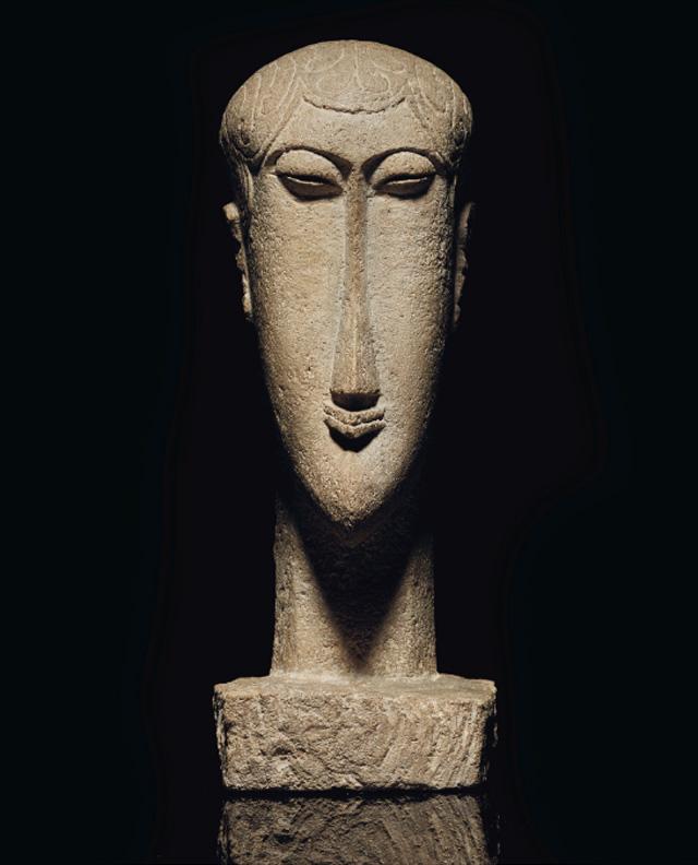 Amedeo Modigliani_Tete (1911-1912)