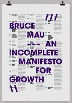 Неполный манифест творческого роста» Брюса Мау