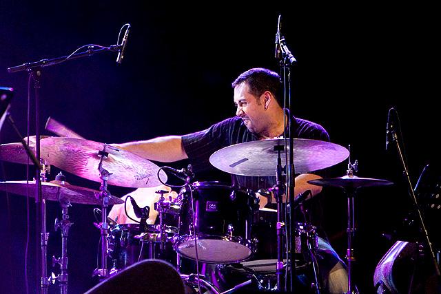 Drummer Antonio Sanchez (The Joshua Redman Trio), фото: en.wikipedia.org