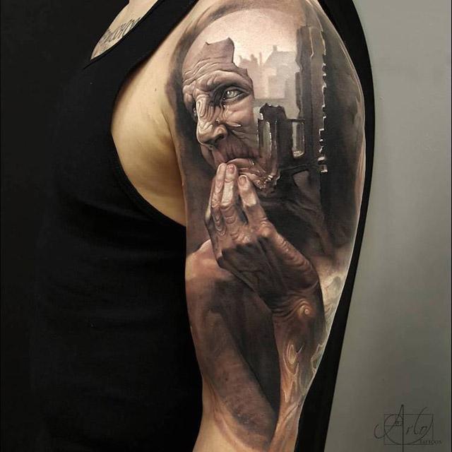 художник Арло ДиКристина (США)