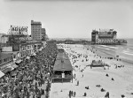Atlantic City Boardwalk and New Garden Pier circa 1920