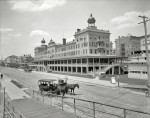 Atlantic City circa 1907 Seaside Hotel (Seaside House