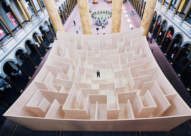 Большой Лабиринт Бьярке Ингельса, Вашингтон, США