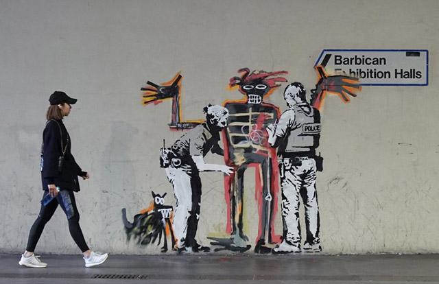 фреска Бэнкси, фото: © Patrick Nguyen