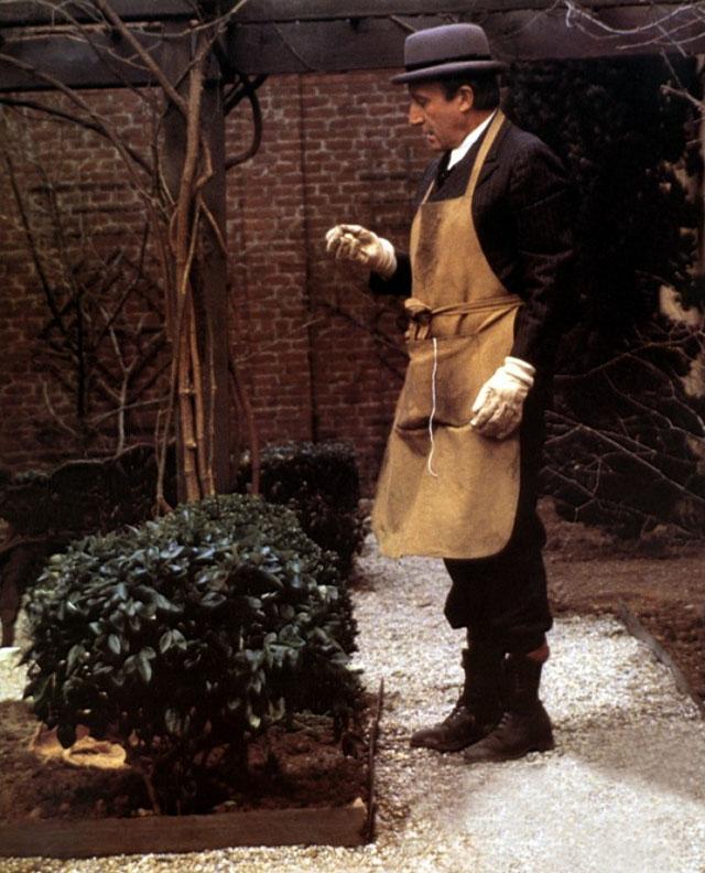 "Кадр из фильма ""Будучи там"" (""Садовник""), 1979"