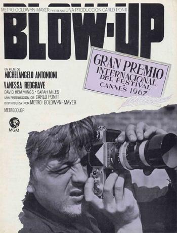 "Афиша фильма ""Blow-Up"""