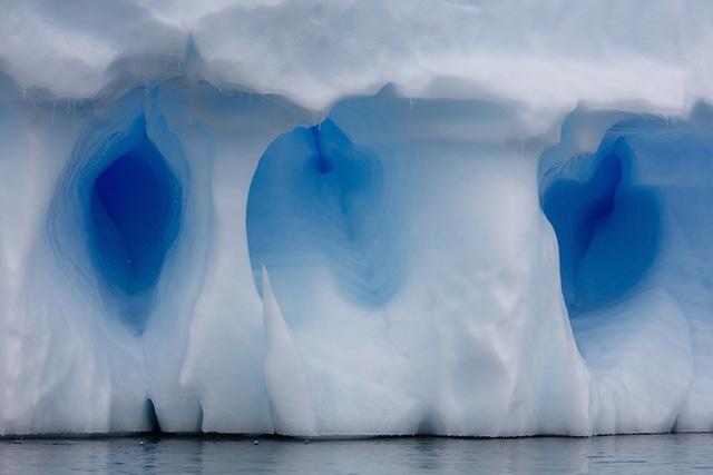 голубой лед Антарктики