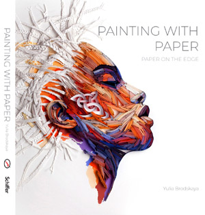 Book cover 'Painting with Paper Paper on the Edge'