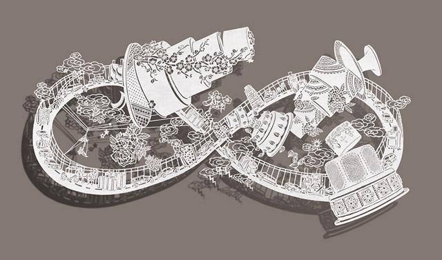 Бумажные аттракционы Бови Ли