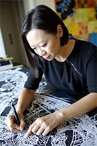 гонкогская художница Бови Ли