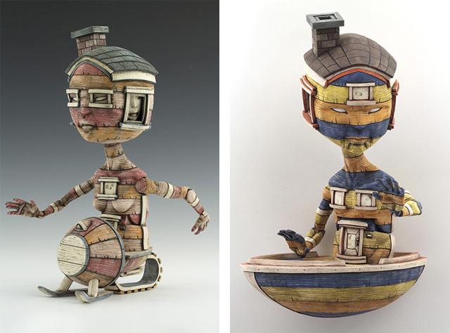 скульптура Келвина Ма