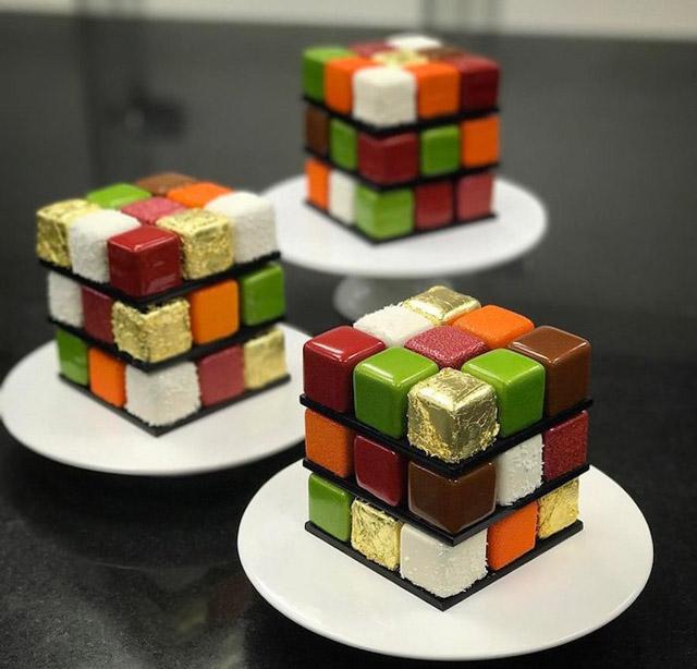 Пирожные французского кондитера Седрика Гроле