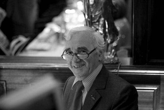 Charles Aznavour, фото: Xavier Thomas