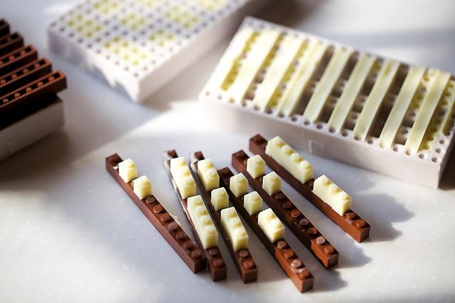Шоколадные LEGO