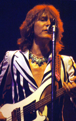 Chris Squire, (Indianapolis, 30.08.1977), photo by Rick Dikeman